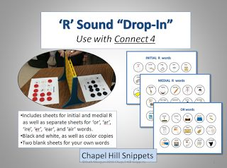 Chapel Hill Snippets: Use Your Connect 4 Game During Articulation Therapy. Pinned by SOS Inc. Resources. Follow all our boards at pinterest.com/sostherapy/ for therapy resources.