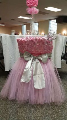 Tutus and Tiaras Baby Shower | CatchMyParty.com