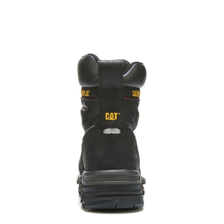 "Caterpillar Men's Rasp 6"" Waterproof Metatarsal Guard Composite Toe Work Boots (Black Leather) - 11.0 M"