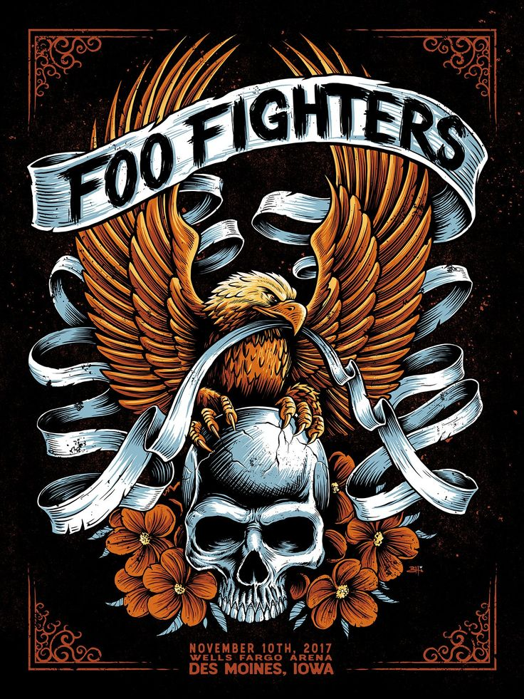 65 best foo fighters posters images on pinterest concert posters foo fighters poster and gig. Black Bedroom Furniture Sets. Home Design Ideas