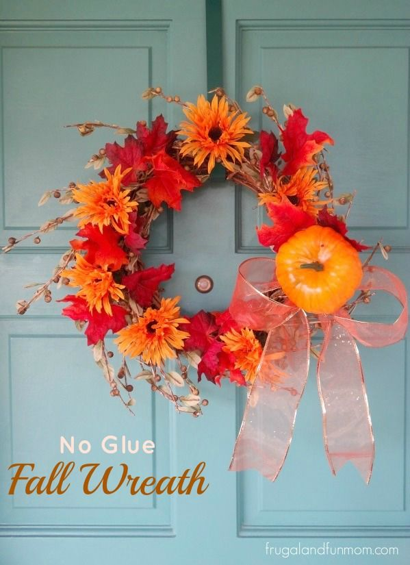 This Fall Wreath Idea is probably one of the most frugal and resourceful crafts I havecompleted. The whole process actually started before summer when I found a wreath at a garage sale for a $1.00. This past week, I went to my local Dollar Store and bought a foam pumpkin, 9 feet of ribbon, 1 …