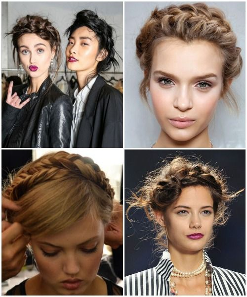 Spring 2014 Beauty - Braided Crown