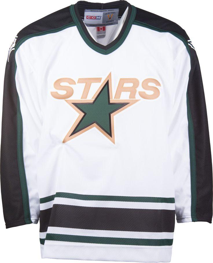 ... Dallas Stars CCM Vintage 1994 White Replica NHL Hockey Jersey Chicago  ... 5a054e2c5