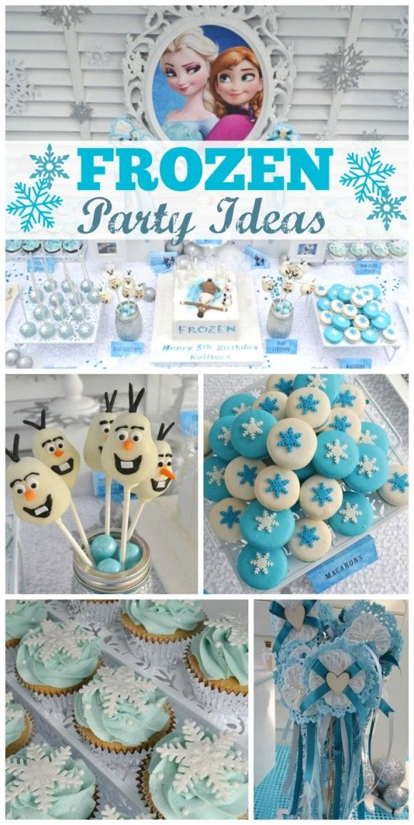 Snow Princess Frozen Party: 10 Must-See Frozen Parties | CatchMyParty.com