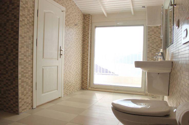 Modern en suite bathrooms. #kalkan #holiday #kalkanholiday #banyo