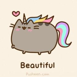 Pusheen The Beautiful Unicorn