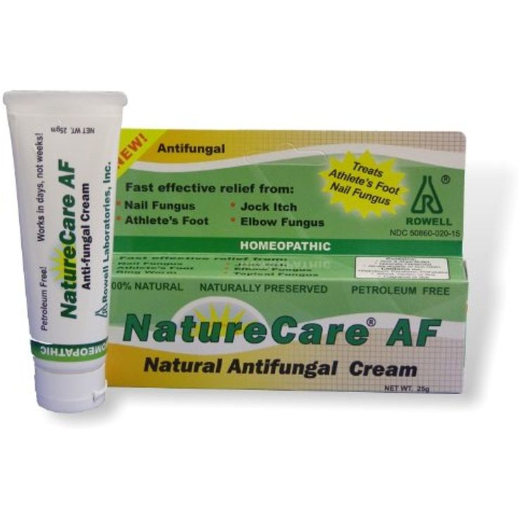 Antifungal Cream. Athlete's foot. Nail fungus. Organic, all natural, non-GMO. NatureCare by Rowell Labs. Made in the USA. -- Be sure to check out this awesome product. (This is an affiliate link and I receive a commission for the sales)