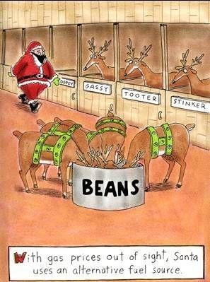 Gas Powered Reindeer