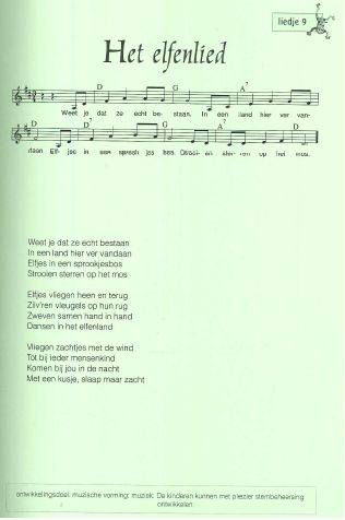 Lied 'Het elfenlied'