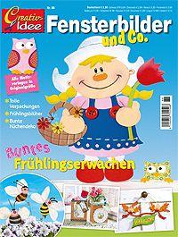 Cover: Creativ Idee- Fensterbilder und Co.