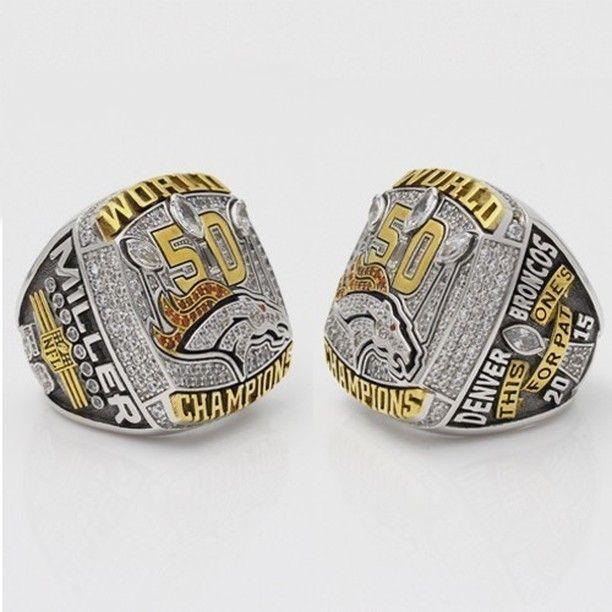 Denver Broncos Super Bowl Rings For Sale