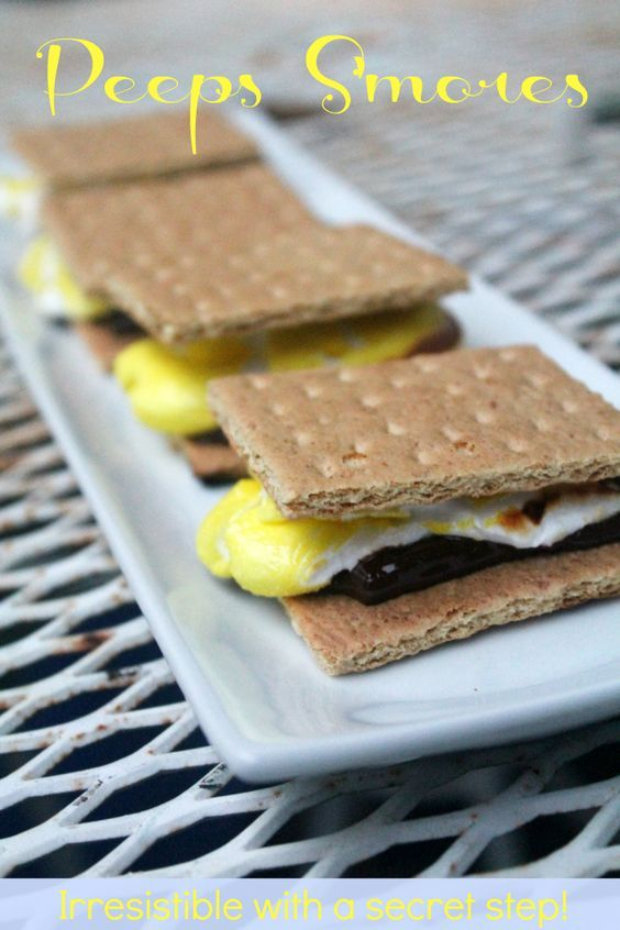 Smores Recipes: Peeps S'mores Recipe - Real: The Kitchen and Beyond