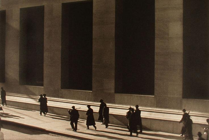Wall-Street-1915-by-Paul-Strand-American-1890-–-1976