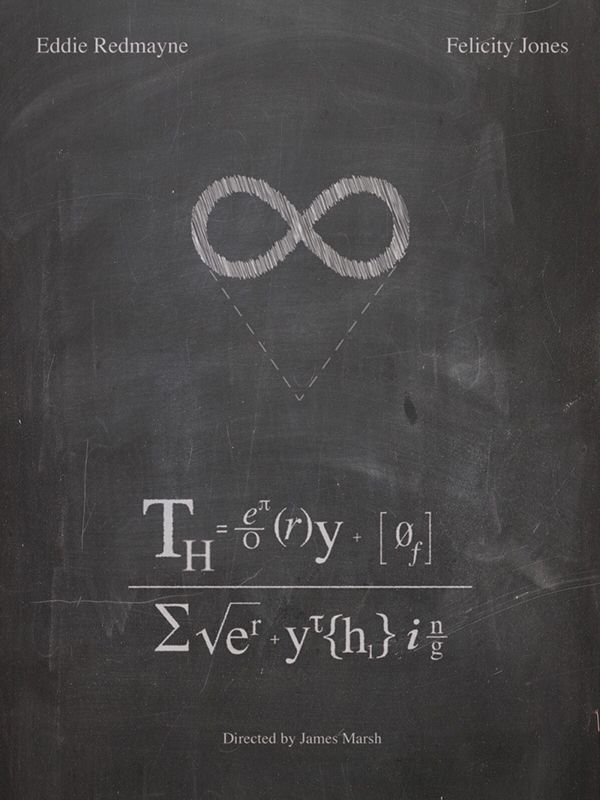 The Theory of Everything (2014) ~ Minimal Movie Poster by Hunter Langston #amusementphile