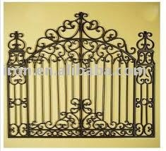 Looks more like a wrought iron   gate