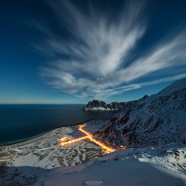 WINTER in Norway, Lofoten Islands (Photo by Cody Duncan)