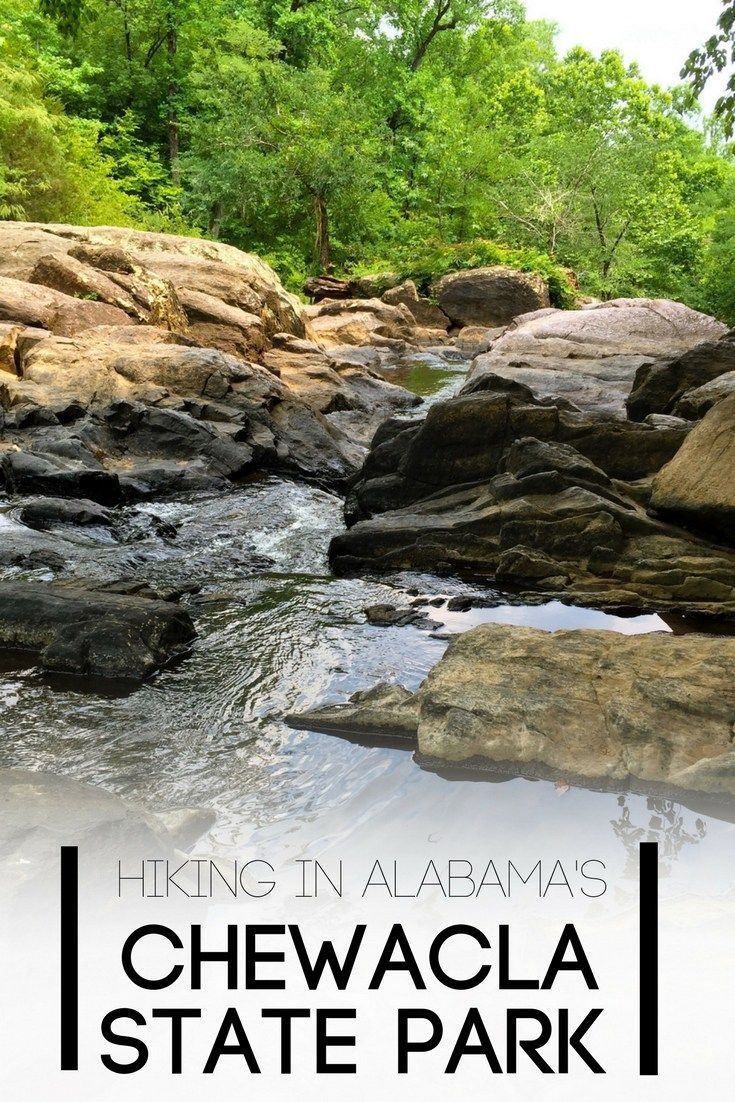 Alabama's Chewacla State Park is a gem right outside of Auburn, Alabama.