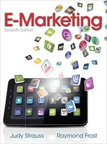 E-marketing / Judy Strauss, Raymond Frost