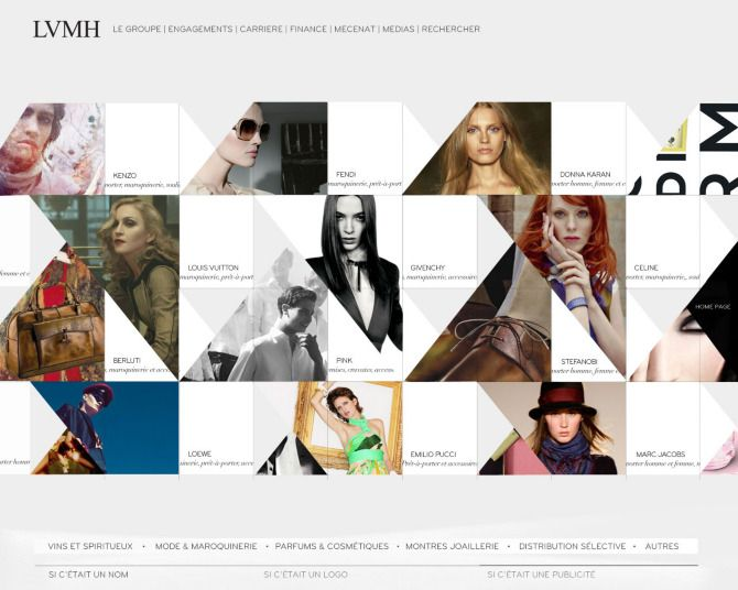 LVMH by We Are Type