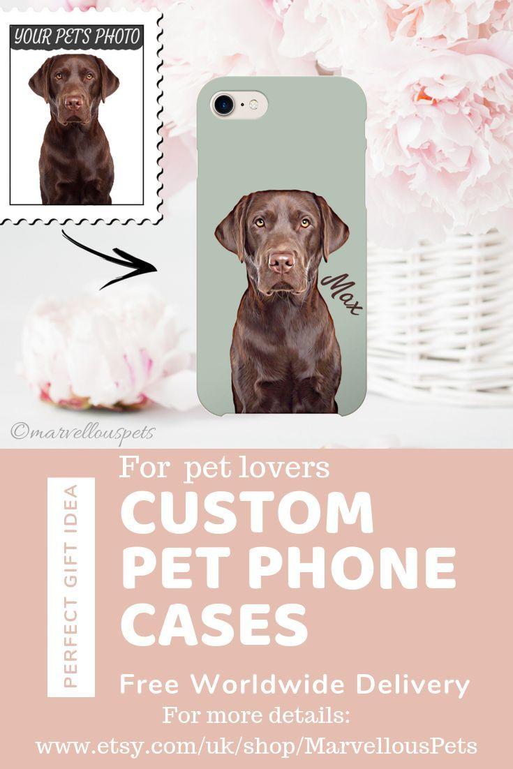 Custom Pet Illustrated Iphone 11 Case Dog Cat Iphone Case Etsy Dog Gifts Dog Loss Gifts Custom Pet Portraits