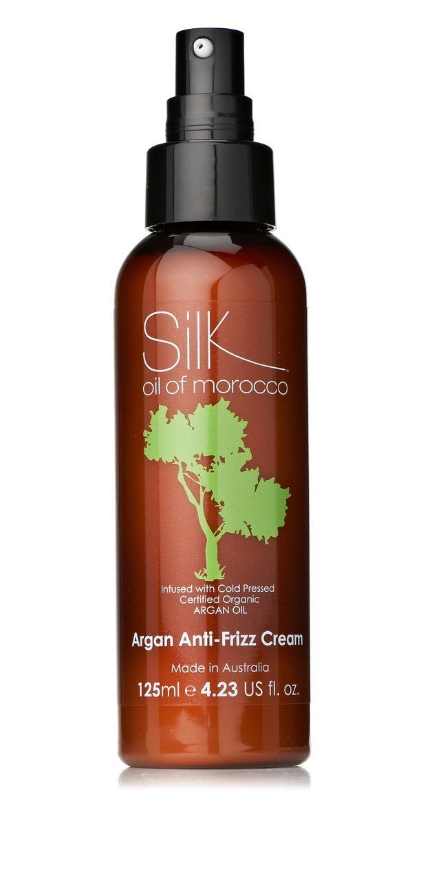 Silk Oil of Morocco Anti Frizz Hair Creme 125ml for Dry ...