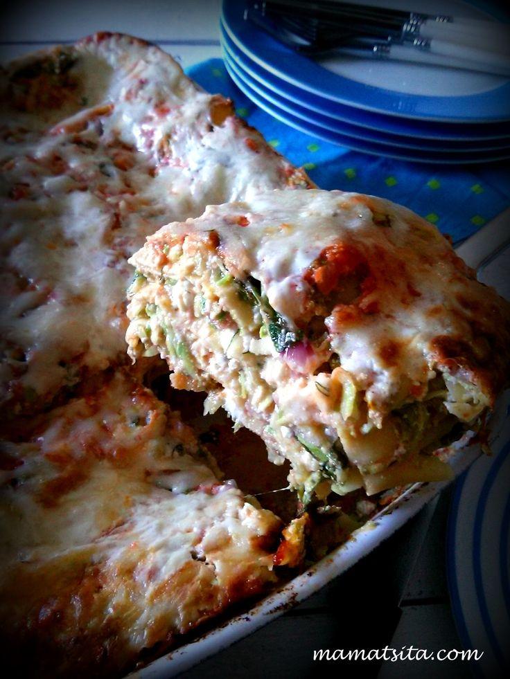 Lasagna zucchini #lasagna #zucchini #homemade #recipe #mamatsita