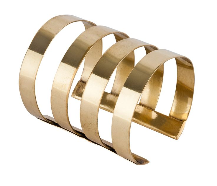 SIMPLE CUTOUT GOLDEN CUFF