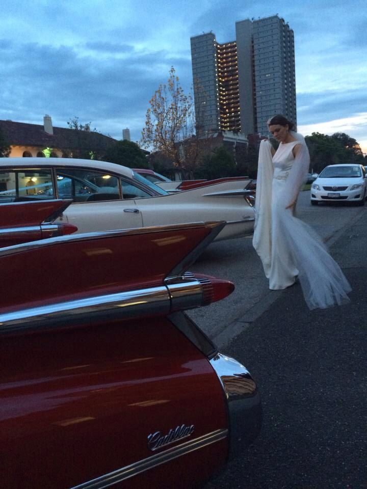 South Melbourne town hall and 1959 Cadillacs