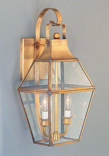 Brass Outdoor Light Fixtures