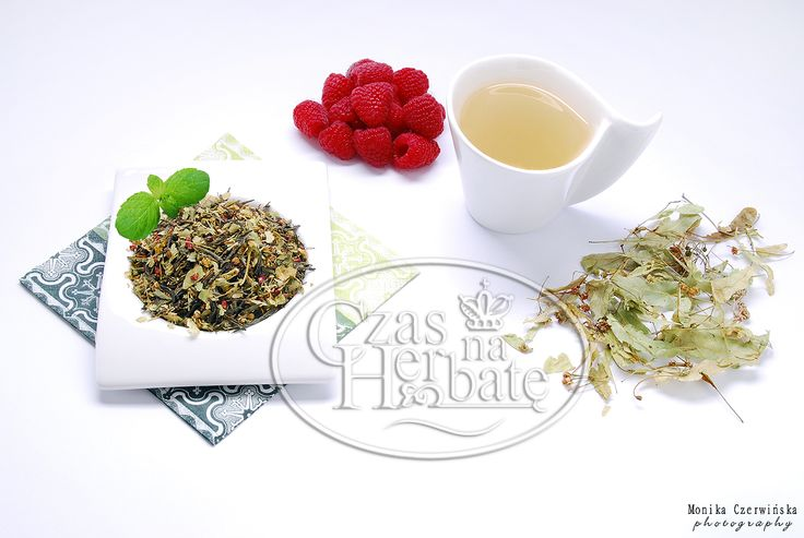 RASPBERRY WITH LINDEN. Sencha green tea with a raspberry, linden and aroma.