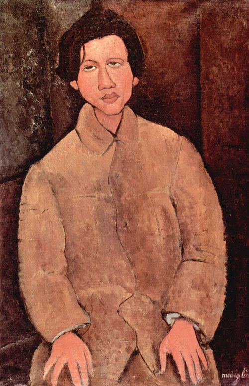 Портрет Хаима Сутина, 1916, худ. А.Модильяни