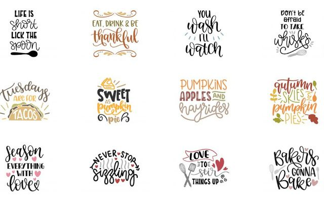 Download Where To Find Free Kitchen & Baking Themed SVGs | CRICUIT ...