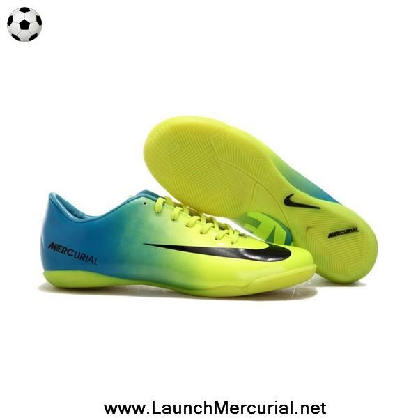 blue green white nike mercurial vapor ix ic
