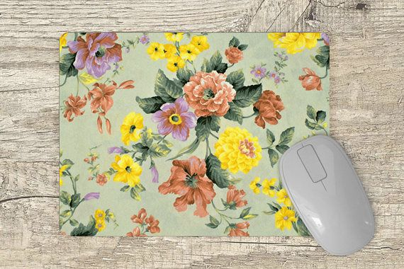 Mouse Pad floral