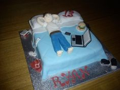 teen boy birthday cake images | teenage boys bedroom — Birthday Cakes omg i want this for his party lol