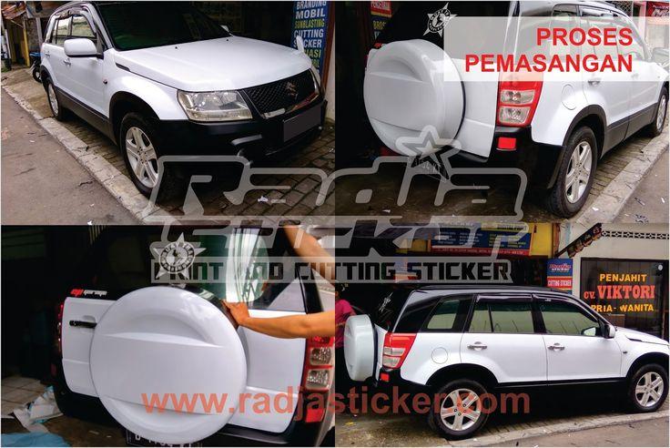 Wrapping Mobil Grand Vitara | Wrapping Stiker Mobil | Spesialis Wrapping Stiker Mobil