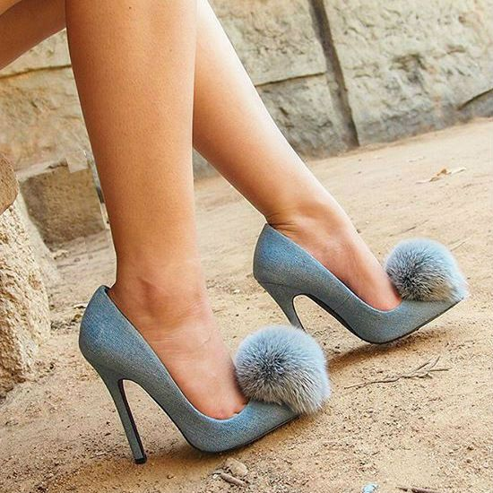 EDITOR'S NOTE Privileged Playboy Pom Pom Pointed Toe Heels Make your own unique statement with those super cute heels by Privileged. Available to buy in multiple colors. Hot deal!  …