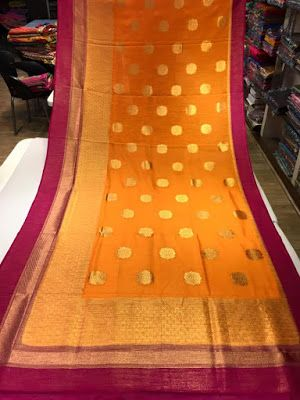 Latest Lenin Gadwal Sarees | Buy Online Gadwa Pattu Sarees | Elegant Fashion Wear
