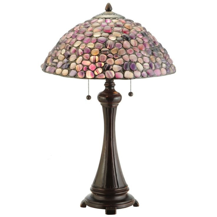 25-inch Jasper Purple Table Lamp - Free Shipping Today - Overstock.com - 16715107 - Mobile