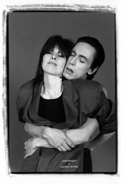 Chrissie Hynde (The Pretenders) and Iggy Pop