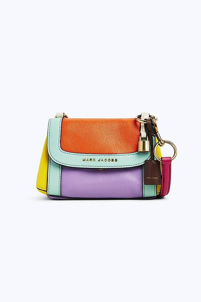 b64cb81680be Marc Jacobs The Colorblocked Mini Boho Grind in Surf