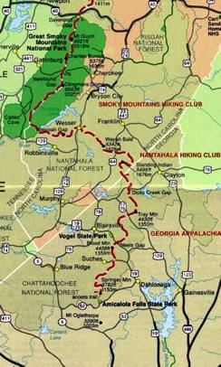 Things To Do Appalachian Trail Hiking Appalachian Trail Map