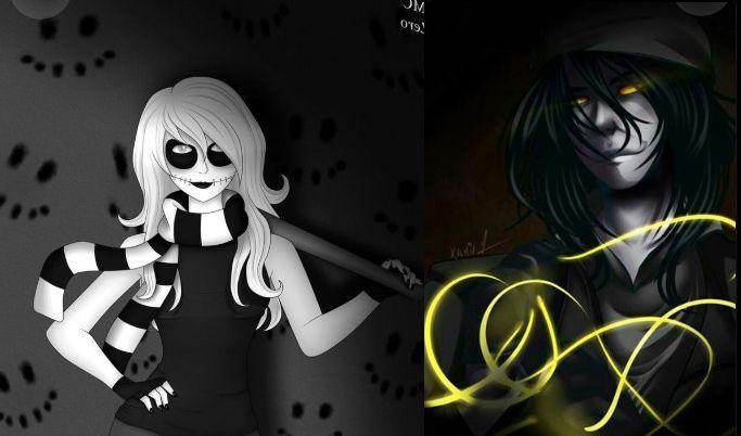 Zero x Puppeteer | Creepypasta characters, Creepypasta ...
