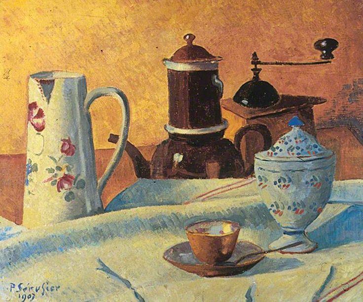 Le café by Paul Sérusier