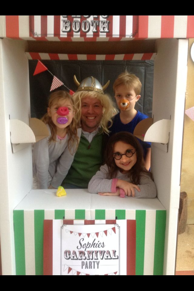 The photo booth worked a treat!