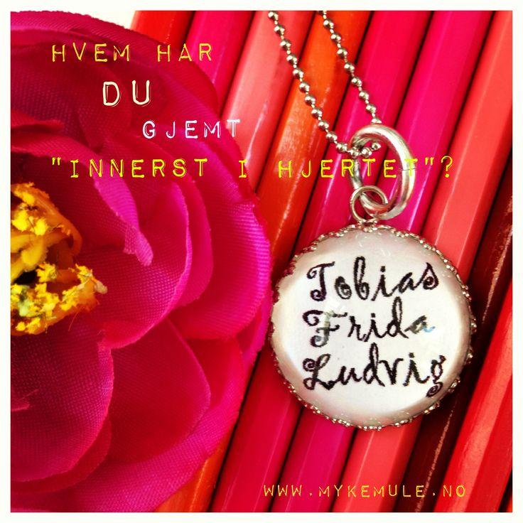 """""""Innerst i hjertet"""" www.mykemule.no"""