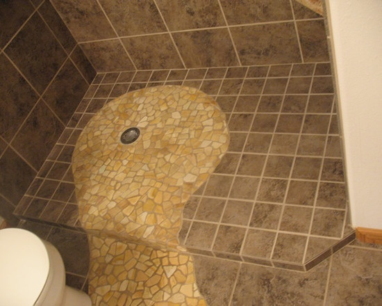 Easy Living Shower - eclectic - bathroom - other metro - Abbie Sladick