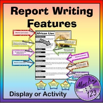 report writing exercise These section reviews are to help you learn how to organize and write different sections on a report just like the lesson exercises, these section reviews are.