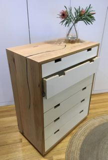 Lovely Cuba Chest Of Drawers | Reclaimed Australian Hardwood Timber | Natural Oil  Finish | White Drawers Images