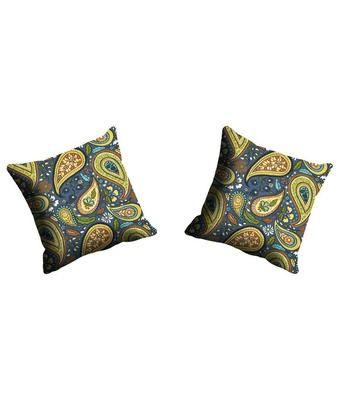 Mesleep Paisley Multicoloured Cushion Cover Cushion Covers on Shimply.com
